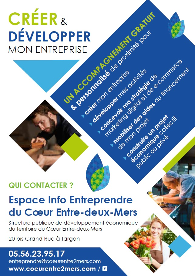 L'Espace Info Entreprendre fait peau neuve !